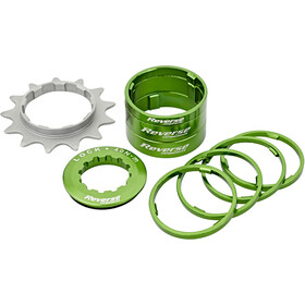 Reverse Single Speed Kit Cassette green